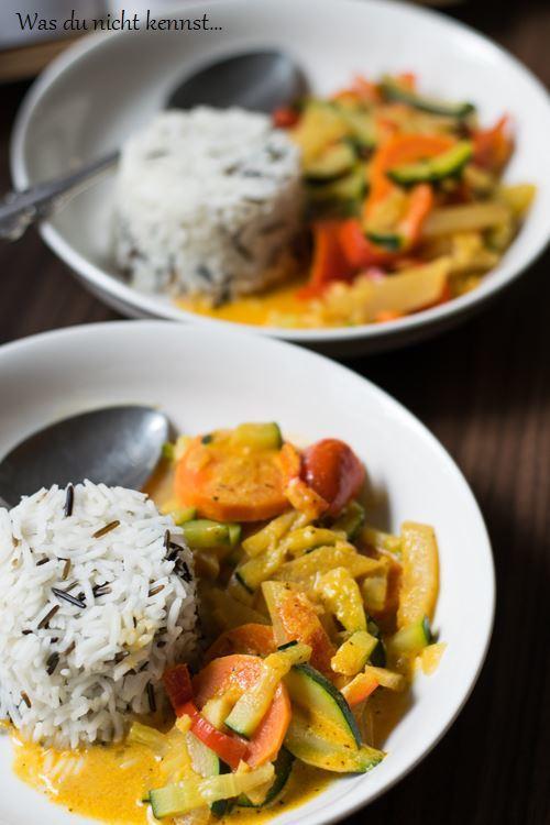 Rezept Gemüse Curry