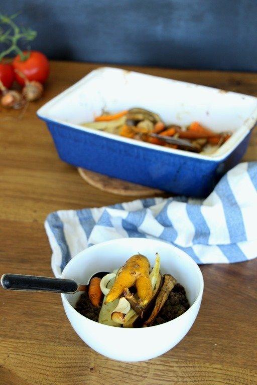 Rezept Gemüse in Ahornsirup - Marinade