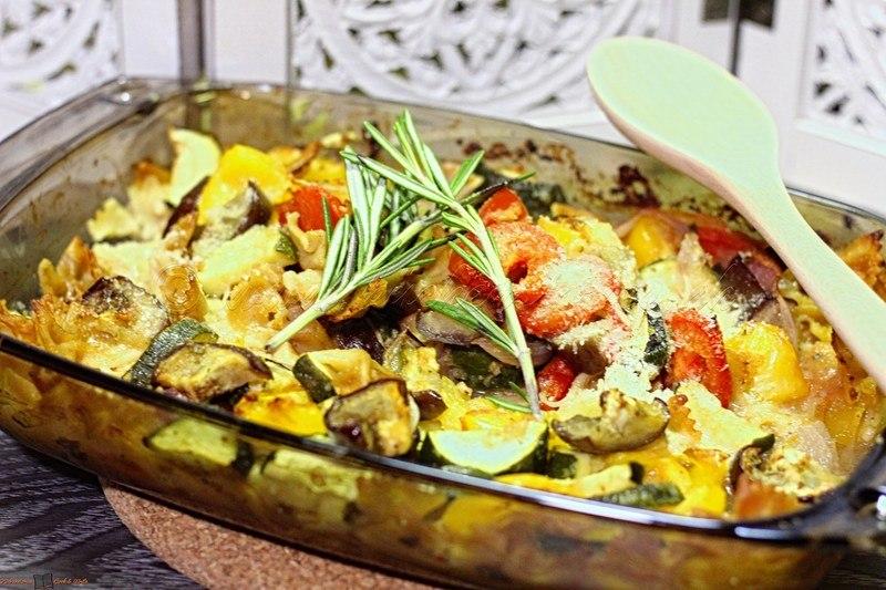 Rezept Gemüse-Pasta-Auflauf
