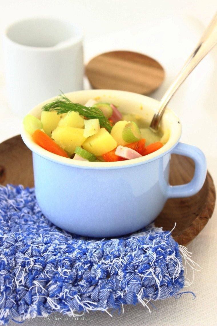Rezept Gemüseeintopf mit Selchfleisch