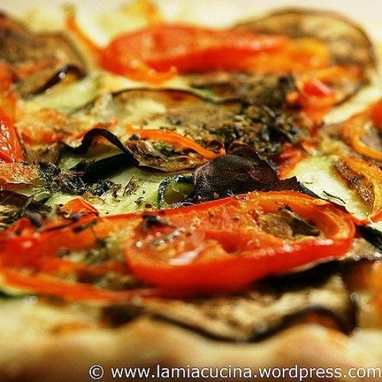 Rezept Gemüsepizza