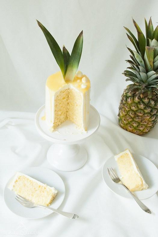 Rezept Gerolltes Ananas-Kokos-Törtchen