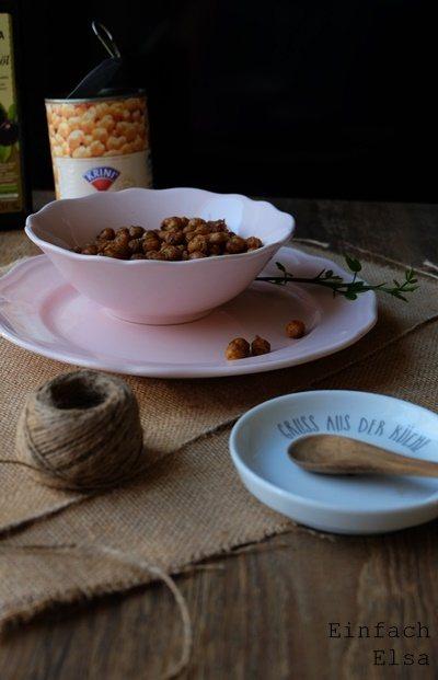 Rezept Geröstete Kichererbsen