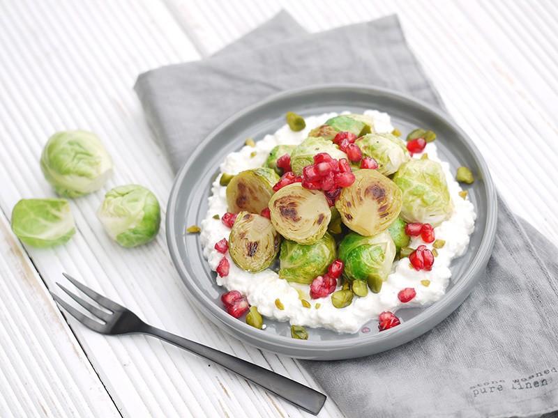 Rezept Gerösteter Rosenkohl nach Jamie Oliver #5Zutaten