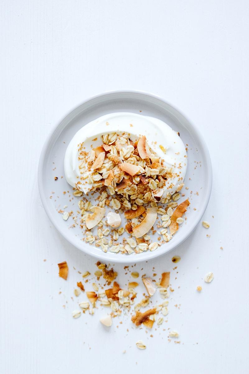 Rezept Geröstetes Müsli mit Kokosnuss und Paranüssen