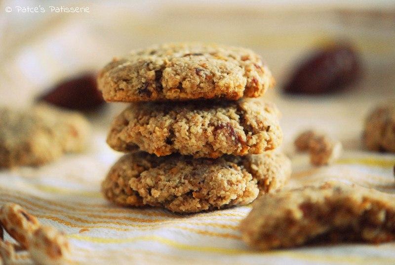 Rezept Gesunde Dinkel-Erdmandel-Cookies ohne Zucker