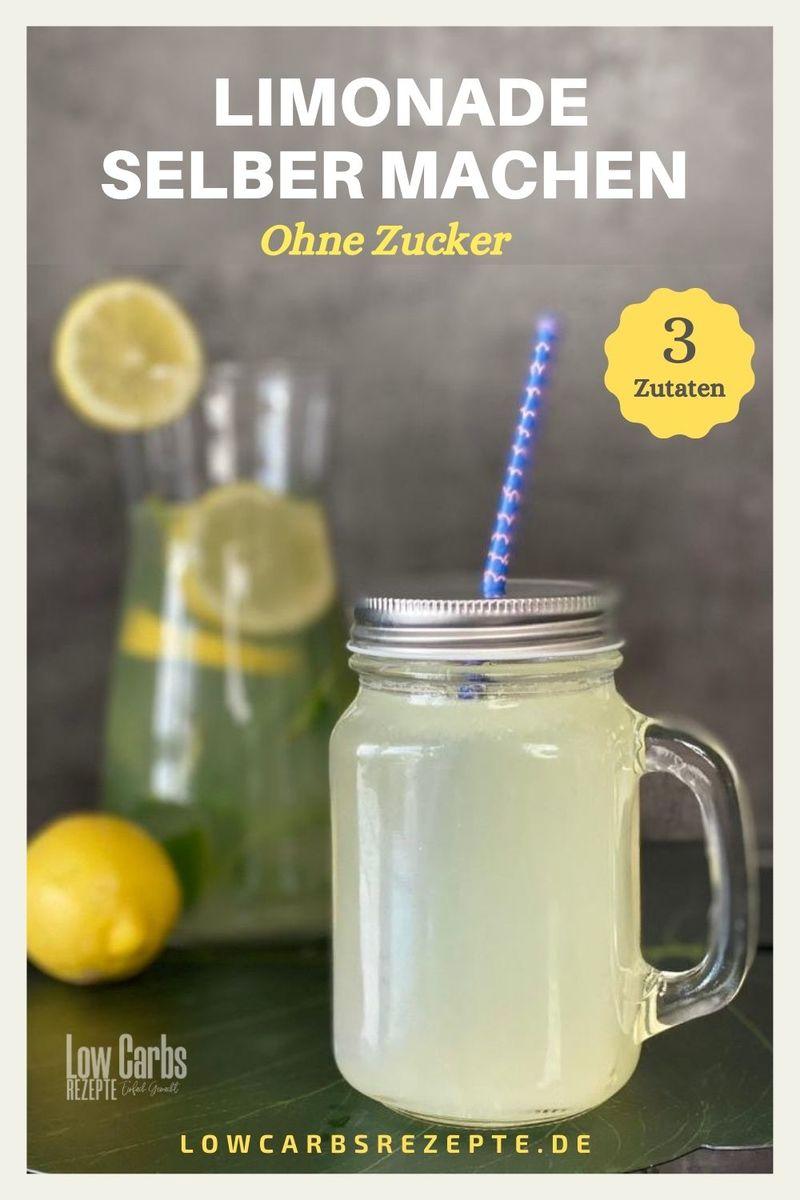 Rezept Gesunde Limonade selber machen ohne Zucker