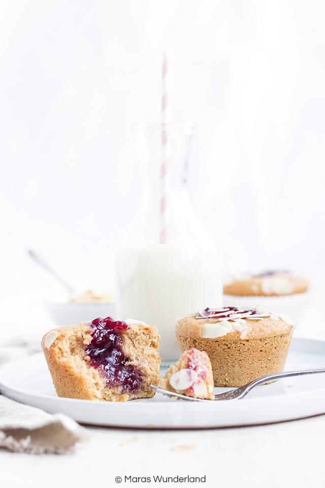 Rezept Gesunde Marmeladen Muffins