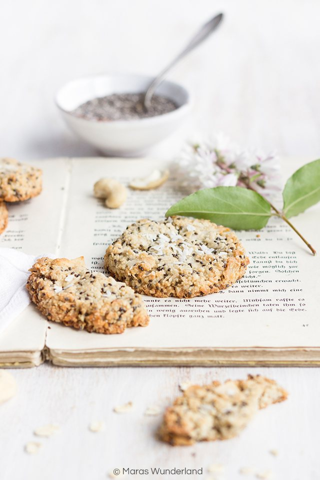 Rezept Gesunde Zitronen-Chia-Cookies