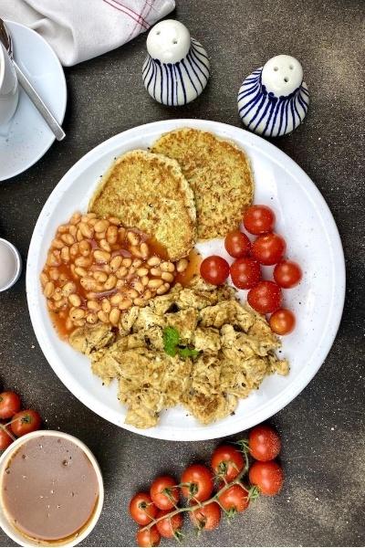 Rezept Gesundes Englisches Frühstück