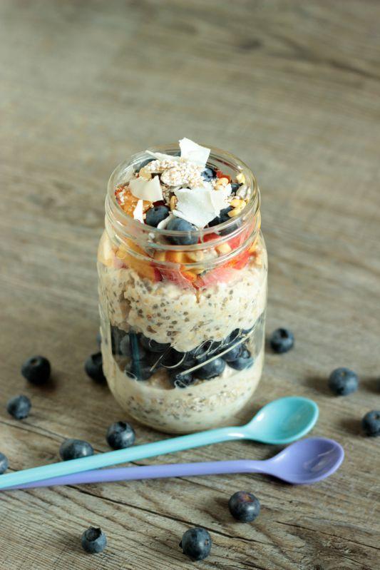 Rezept Gesundes Frühstück - Smoothies,Quesadillas und Overnight Oats