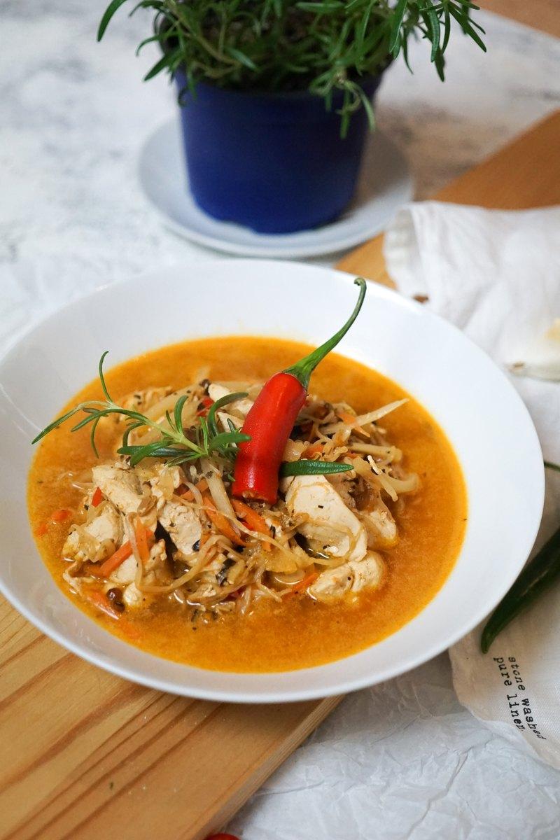 Rezept Gesundes Hühnchencurry mit Chili und Asiagemüse