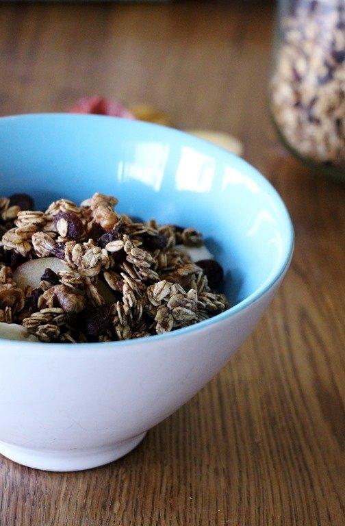 Rezept Gesundes Knuspermüsli