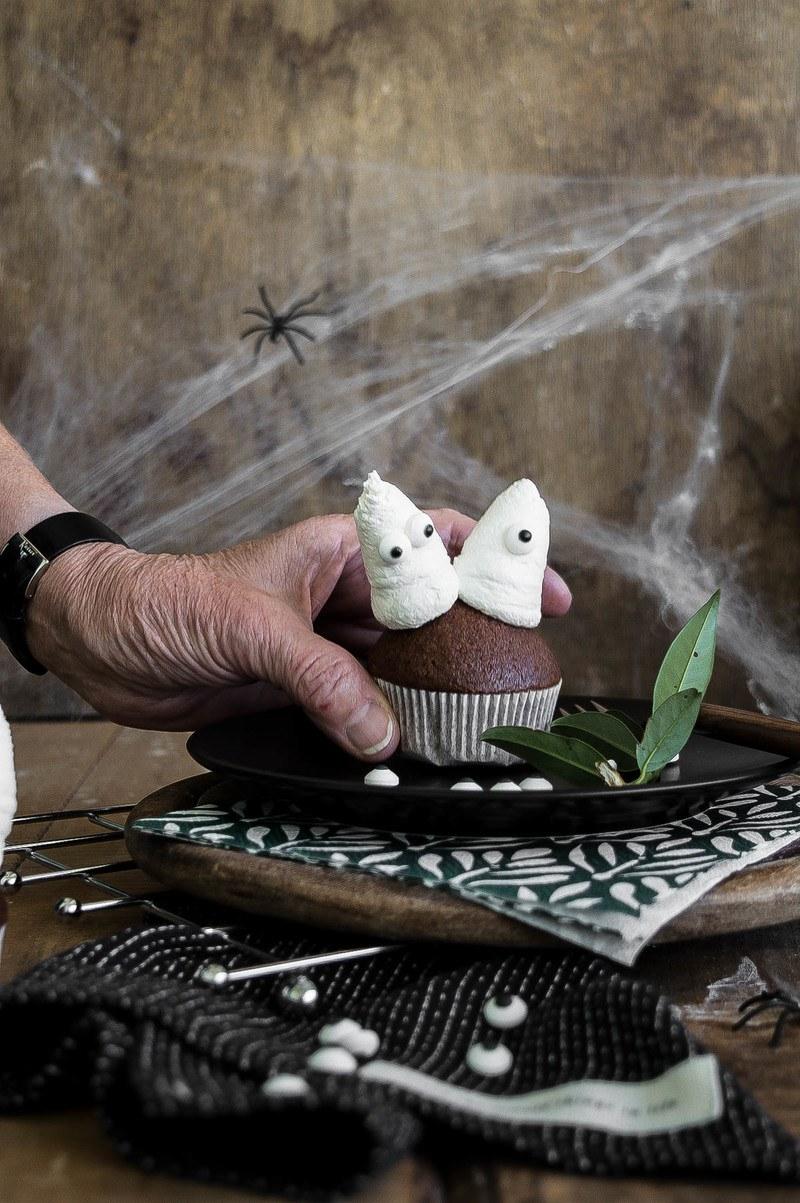 Rezept Gewürz Cupcakes für Halloween