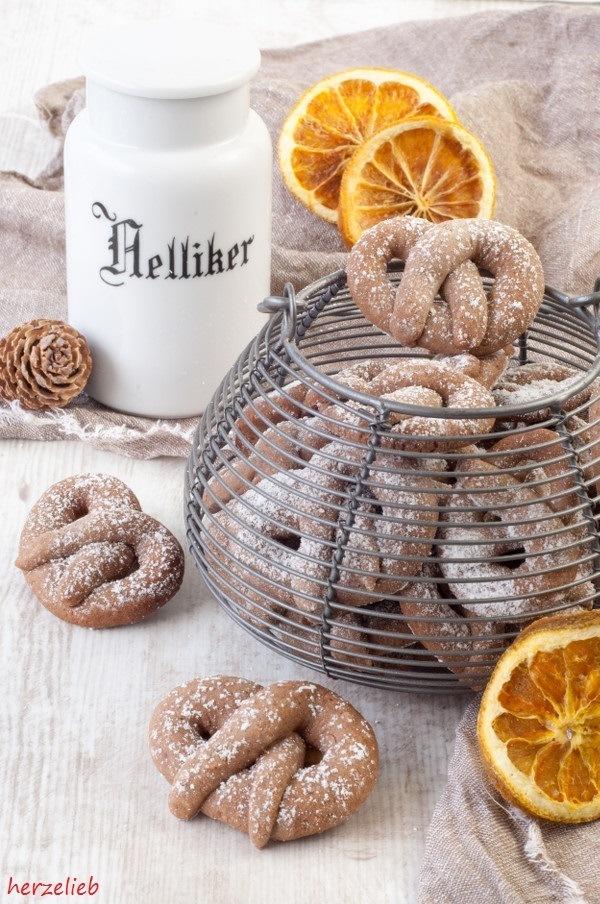 Rezept Gewürz-Orangen-Brezelchen