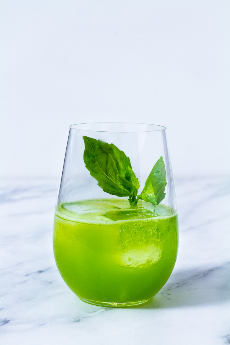 Rezept Gin Basil Smash