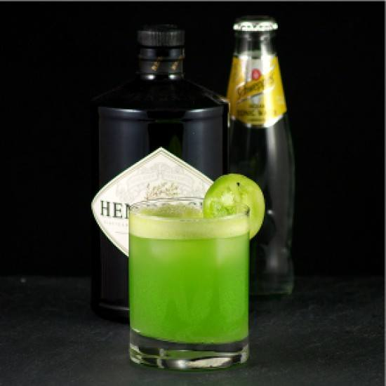 Rezept Gin Tonic mit grüner Tomate