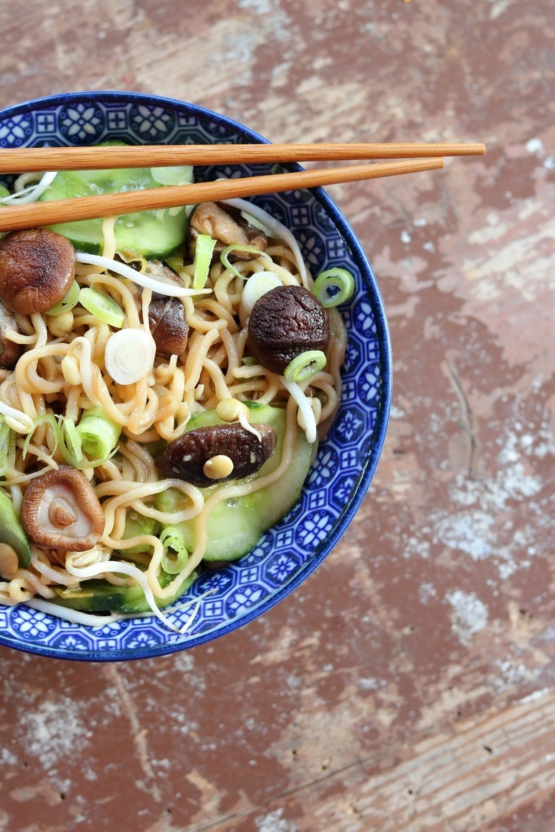 Rezept Ginger Scallion Noodles