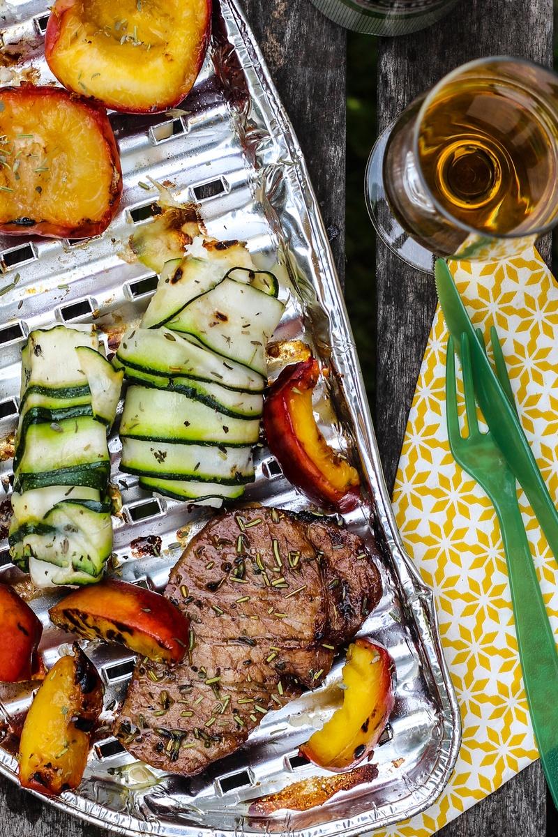 Rezept Glacierte Karree Steaks
