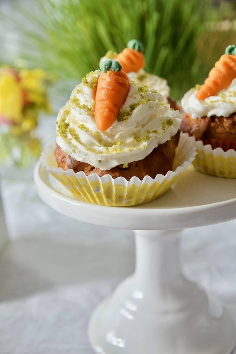 Rezept Glutenfreie Spicy Carrot Cupcakes