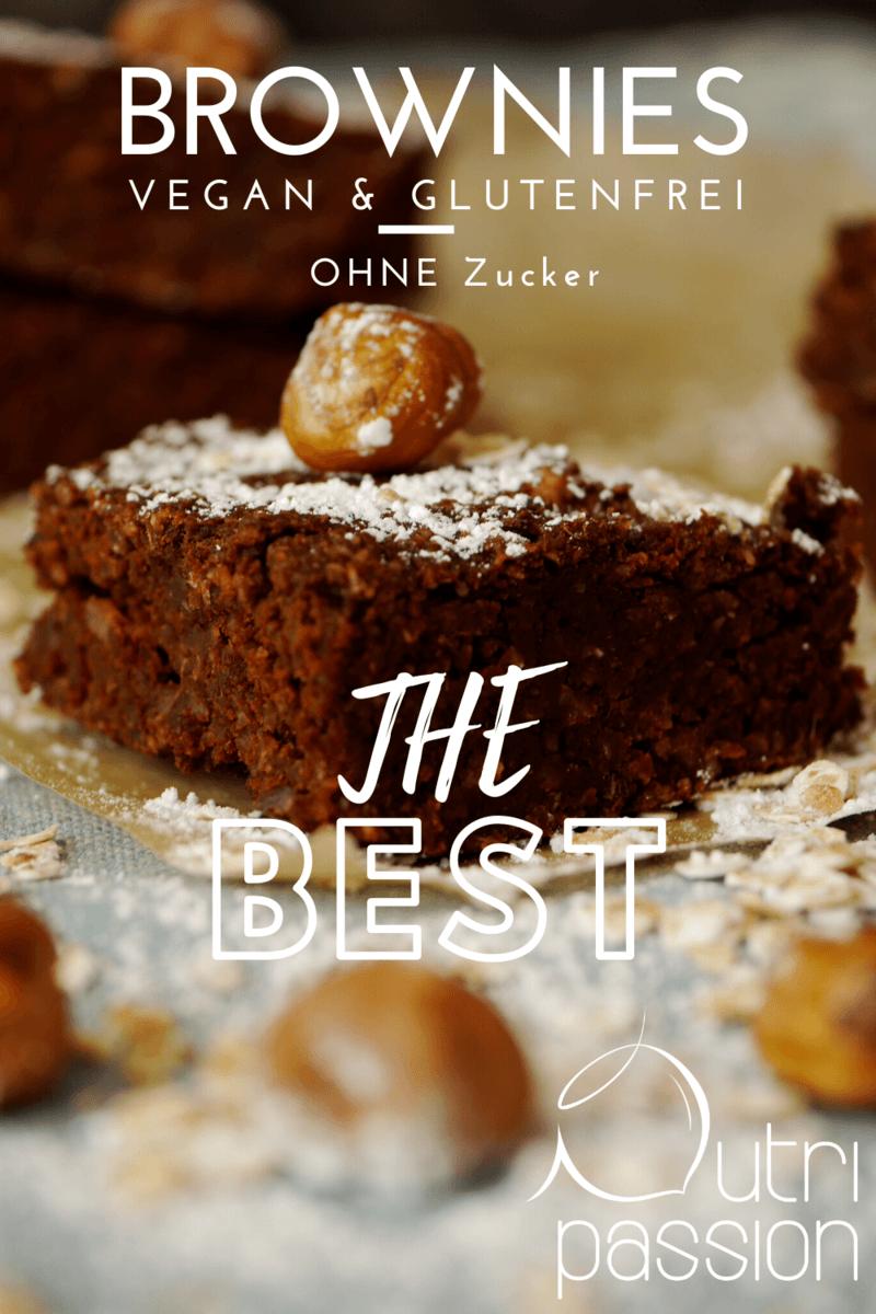 Rezept Glutenfreie vegane Brownies