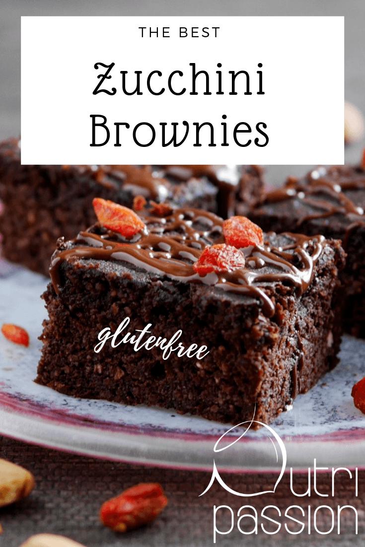 Rezept Glutenfreie Zucchini Brownies