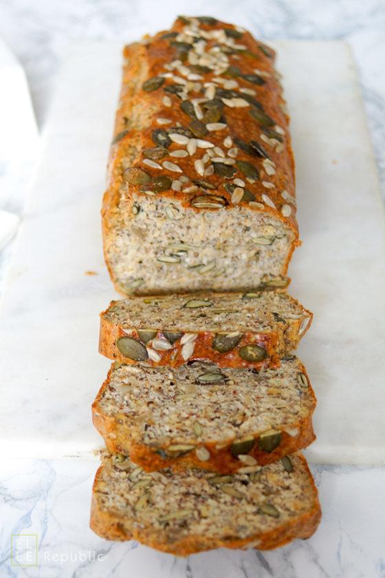 Rezept Glutenfreies Körnerbrot: selber backen ist ganz einfach!