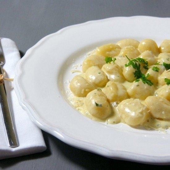Rezept Gnocchi al gorgonzola