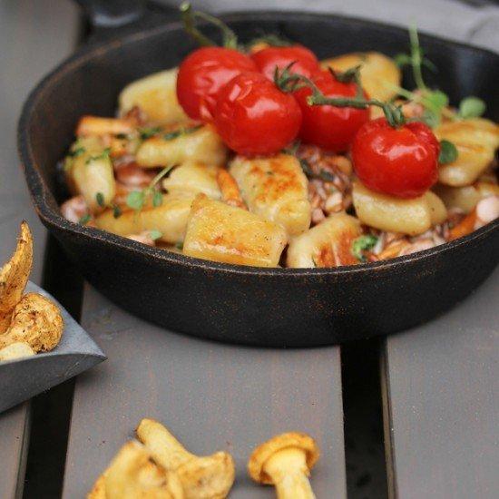 Rezept Gnocchi mit Pfifferlingen