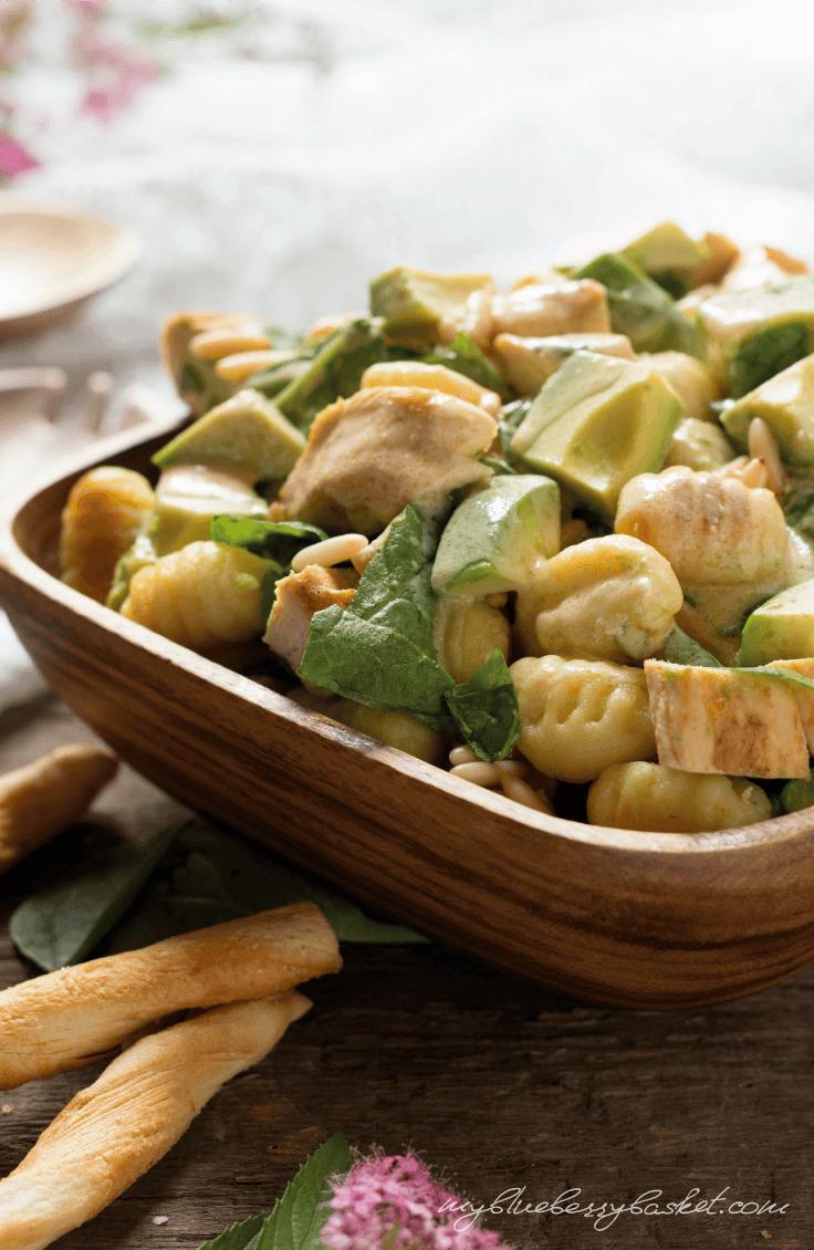 Rezept Gnocchi-Salat mit Huhn und Avocados