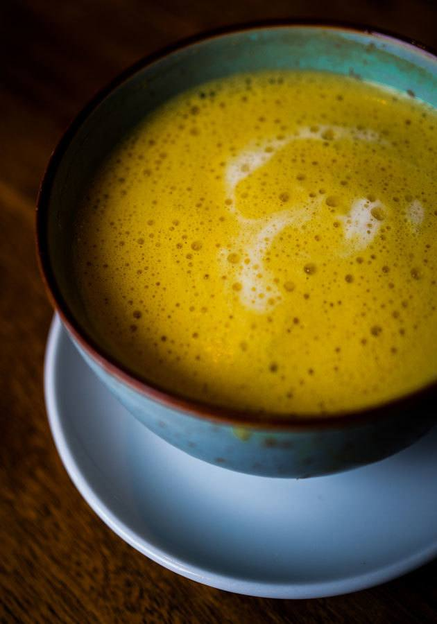 Rezept Golden Milk oder Kurkuma Latte macht Happy