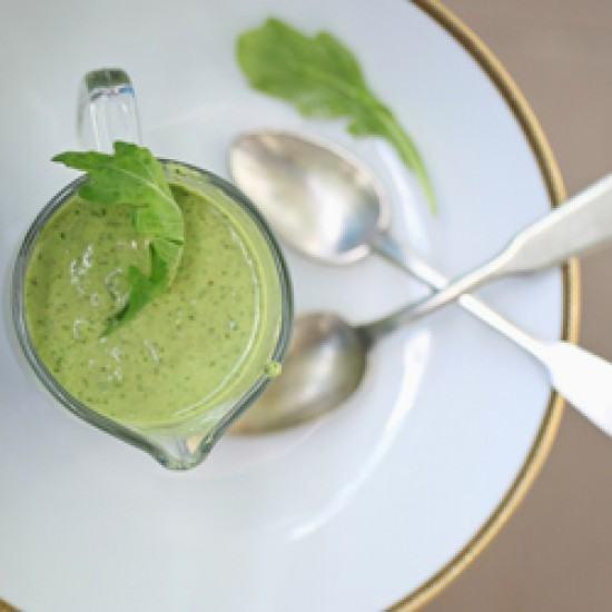 Rezept Gorgonzola- und Rucola-Pesto