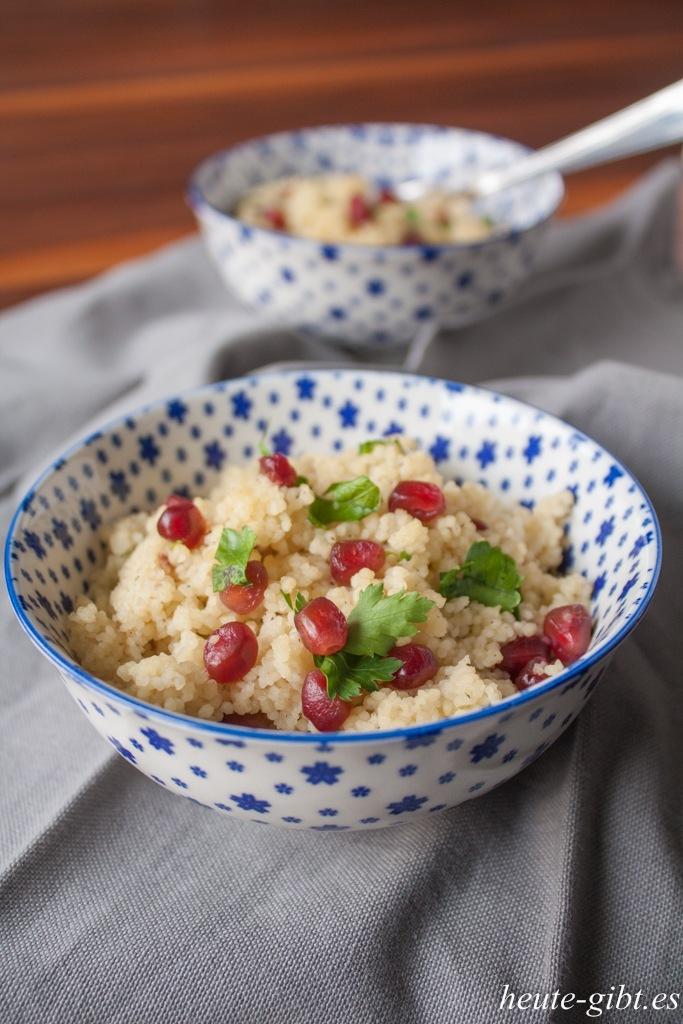 Rezept Granatapfel-Couscous
