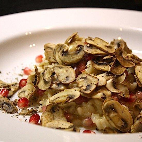 Rezept Granatapfel-Risotto