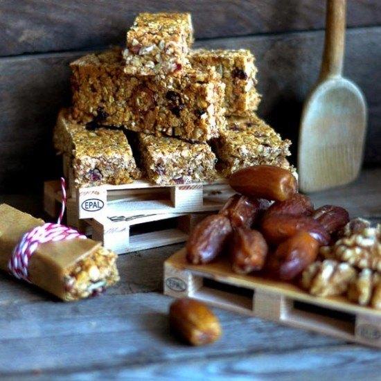 Rezept Granola Bars - Müsliriegel