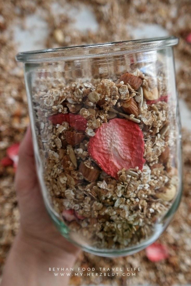 Rezept Granola mit Weizenflocken