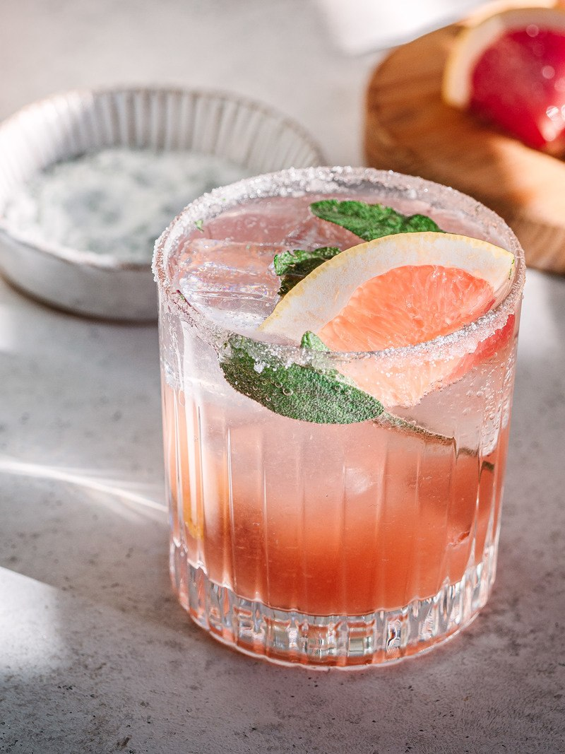Rezept Grapefruit Gin Tonic