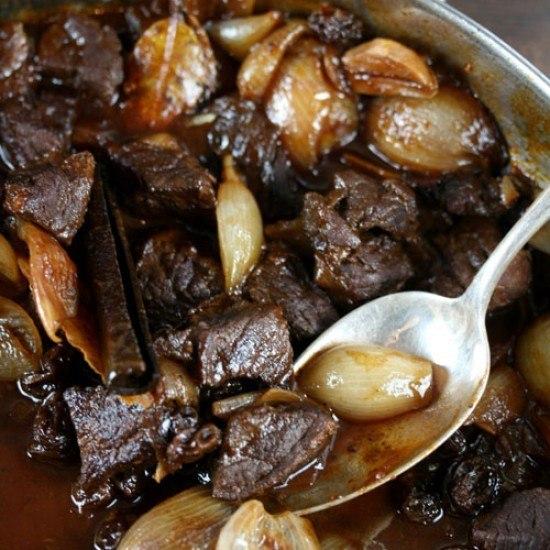 Rezept Griechische Küche: Stifado