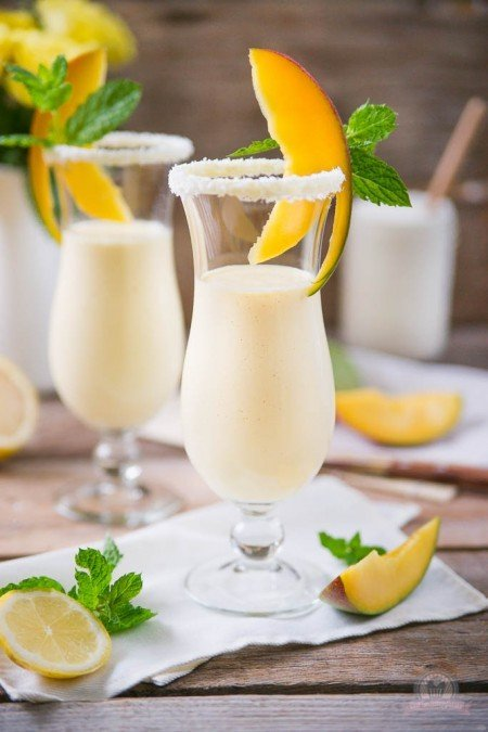 Rezept Griechischer Mango Smoothie