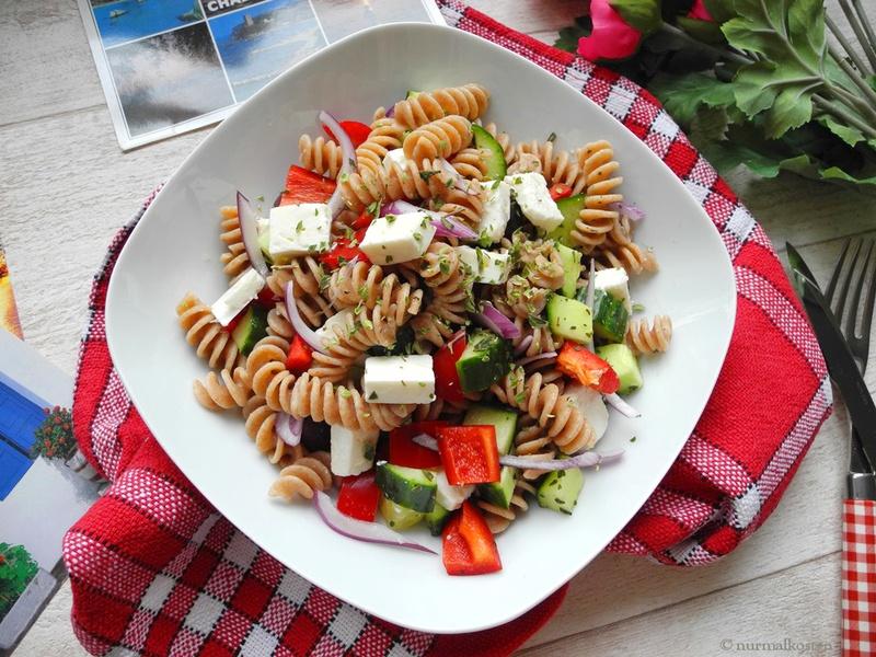 Rezept Griechischer Nudelsalat