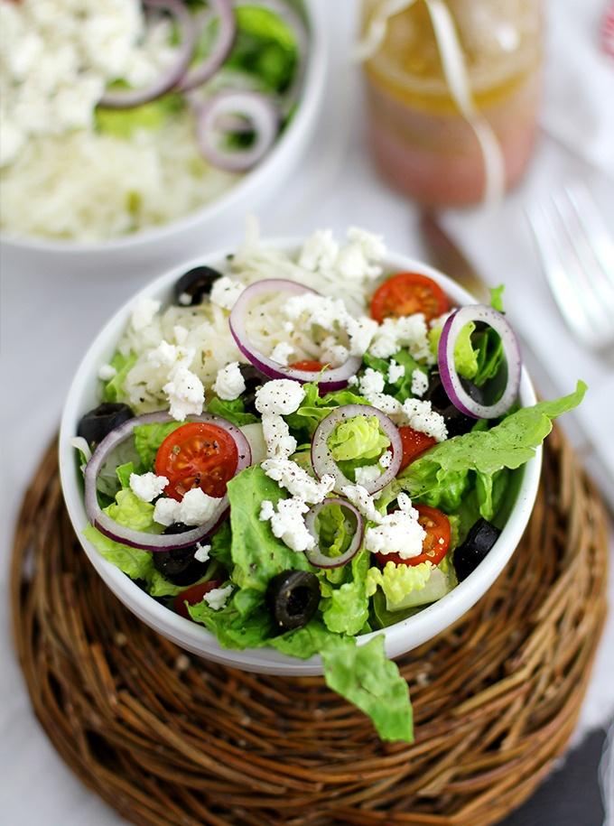 Rezept Griechischer Salat mit Feta