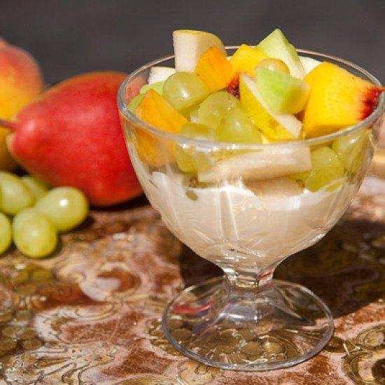 Rezept Griechisches Joghurt mit Früchten