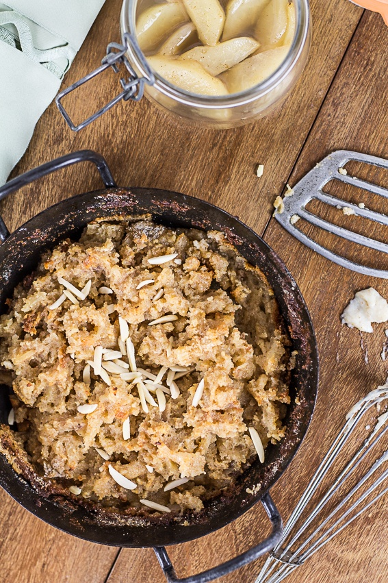 Rezept Grieß-Schmarrn mit Birnen-Kompott