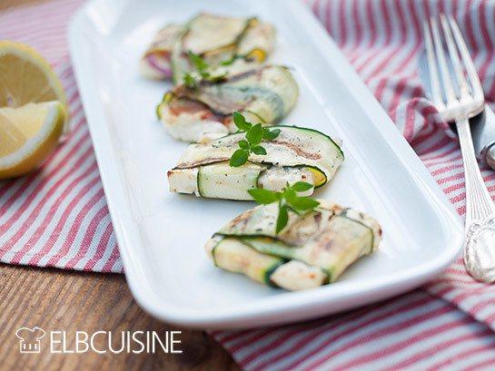 Rezept Großartige Zucchini-Feta-Päckchen vom Grill!