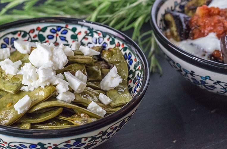 Rezept Grüne Bohnen aus dem Ofen