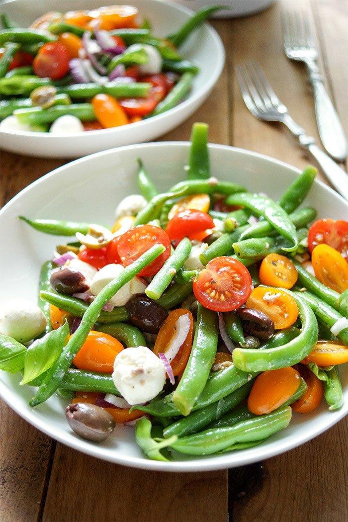 Rezept Grüne Bohnen-Tomatensalat