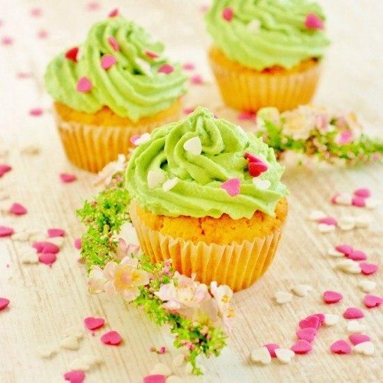 Rezept Grüne Cupcakes