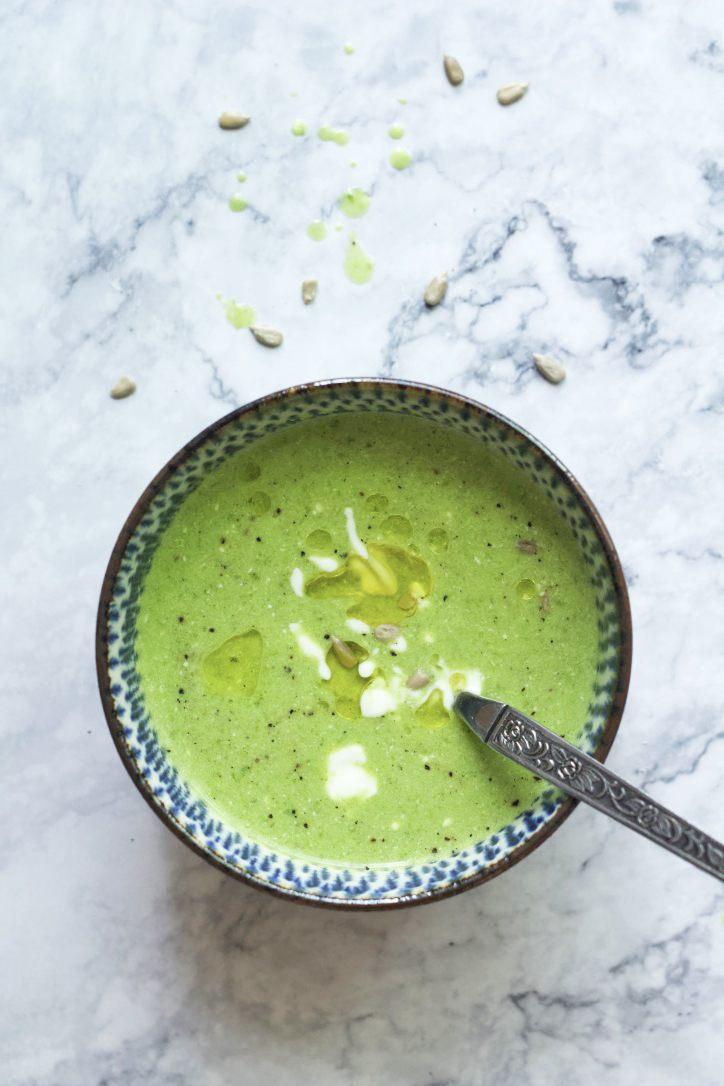 Rezept Grüne Kopfsalat-Suppe