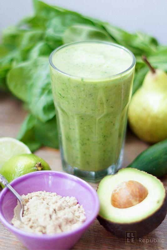 Rezept Grüne Smoothies mit dem Energiekick