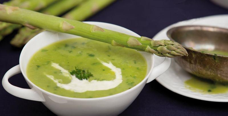 Rezept Grüne Spargel Suppe